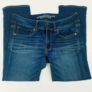 American Eagle Outfitters Jeans Size 8 Artist Crop
